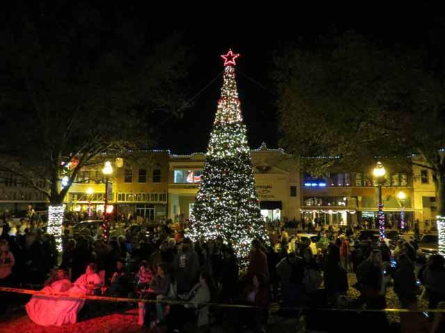 east texas christmas activities