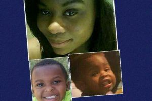 23 year old Ashleigh D. Carter, ,  3 year old Taleigh H. Carter-Brown and 2 year old Ethan A. Carter-Brown.  facebook