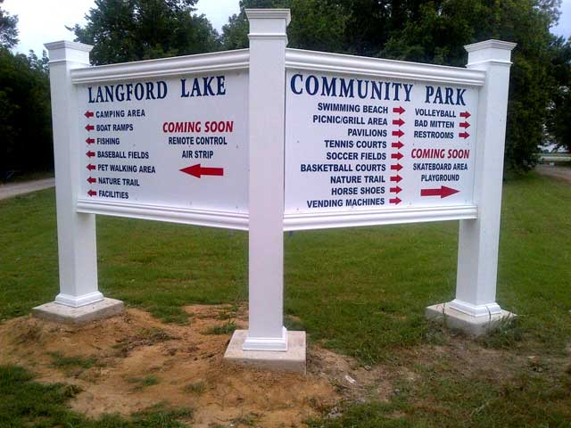 langfordlakesign