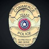 Commerce Police Department Badge