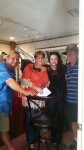 Rod, Tracy Dennis, Hannah Kirby, Dave