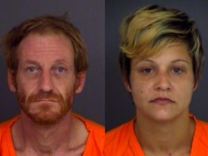 John Lydy and Brittany Scheurerman Cherokee County Jail