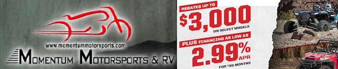 Momentum Polaris Full Throttle Sales Event