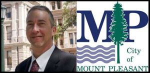 Mark Ahrens Mt Pleasant City Manager