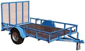 parker single_axle trailer