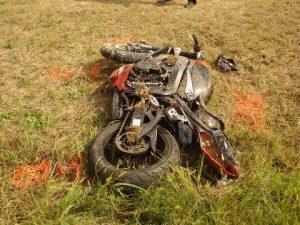 not actual crash scene