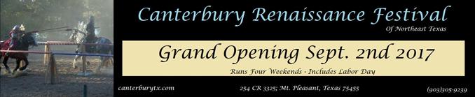 Canterbury Renaissance Festival 2017