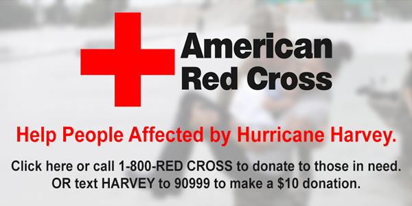 red cross hurricane harvey donate