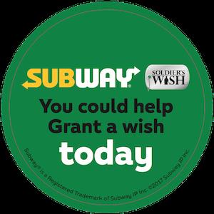 Subway Soldier's Wish