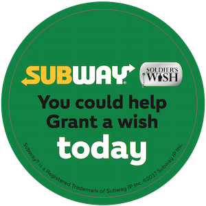 Subway Soldier's Wish