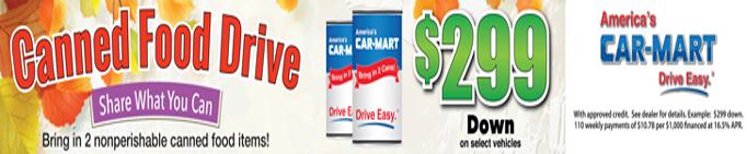 Car-Mart Can Drive