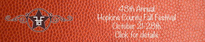 Hopkins County Fall Festival