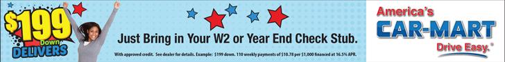 Carmart January Banner