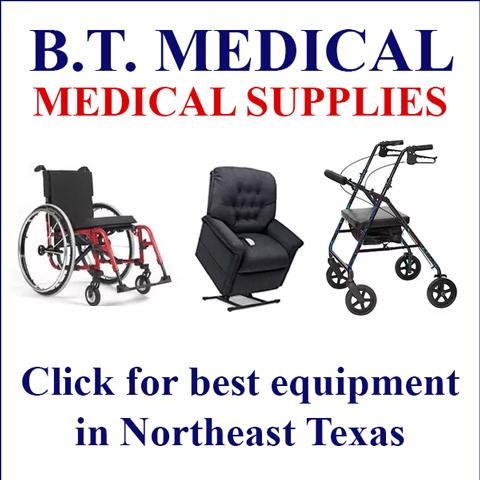 B.T. Medical Supplies Top Sidebar
