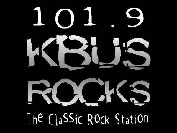 KBUS 1019 logo