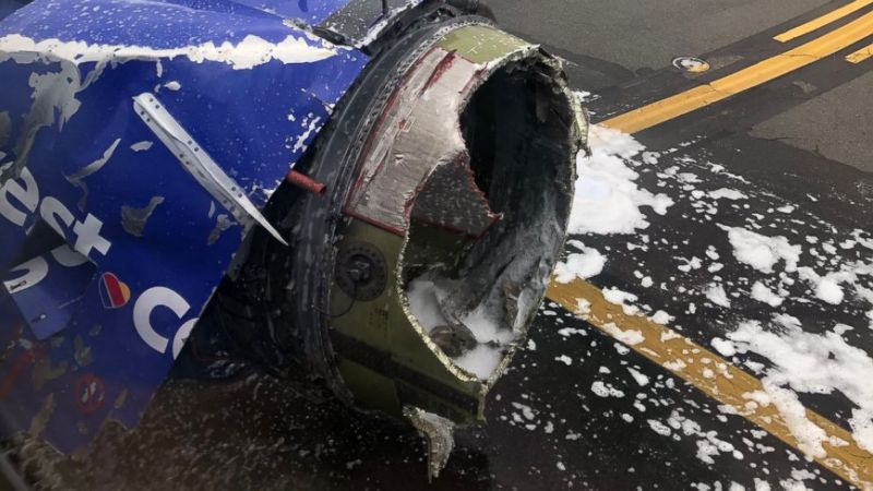 One Dead After Southwest Airlines Engine Blows Mid-Flight – EastTexasRadio.com