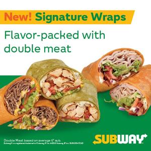 Subway New Signature Wraps