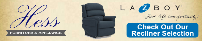 Hess Lay-Z-Boy Recliner Header