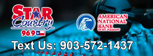 American National Bank Text Sponsor STAR 96.9