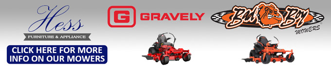Hess Lawn Mower Header