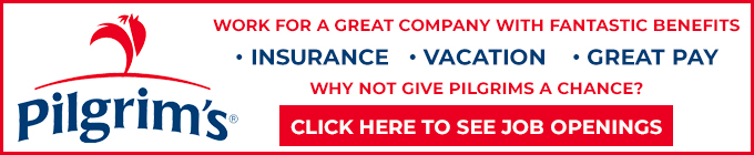 Pilgrim's Pride Jobs Header Oct. 2019