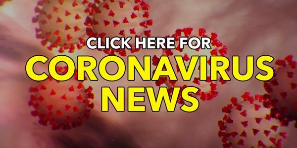 coronavirus news banner