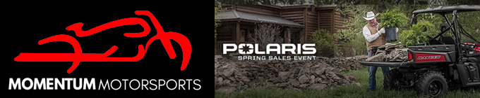 Momentum Polaris Spring Sales Event 2020