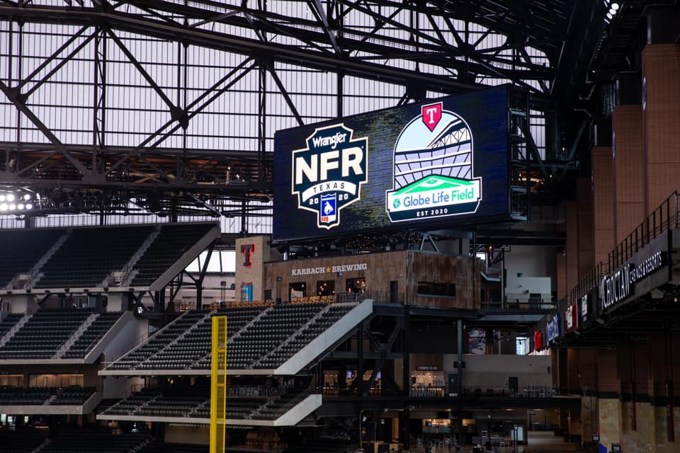 Rodeo Christmas Las Vegas December 2020 Exhibit Wrangler® National Finals Rodeo 2020 Moves To Globe Life Field
