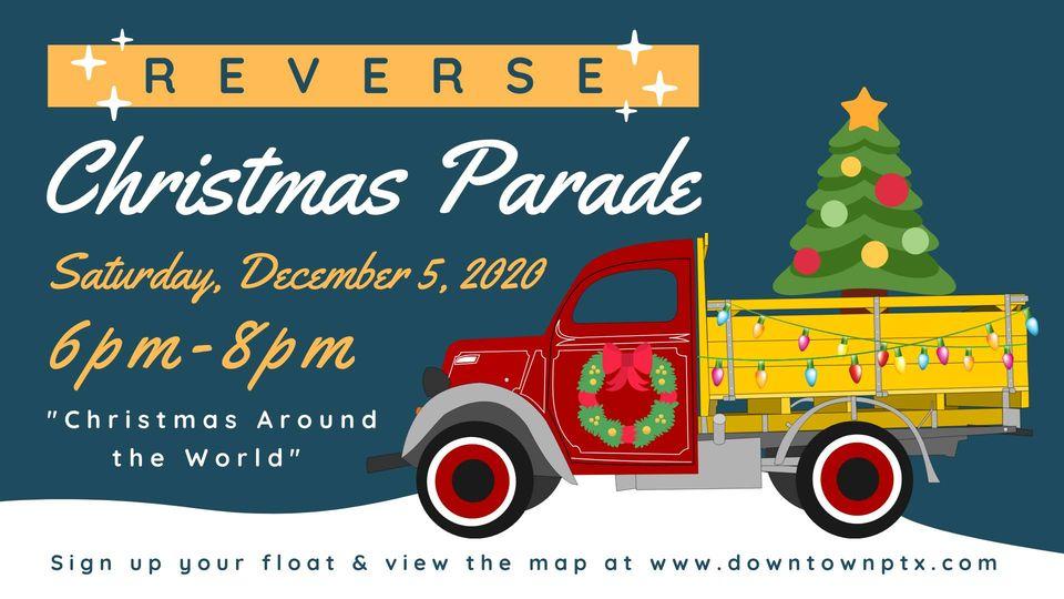Paris Tx Christmas Parade 2021 2020 Paris Reverse Christmas Parade Saturday Evening Plus New Route Easttexasradio Com