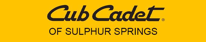 Cub Cadet Sulphur Springs Header
